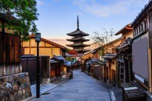 Yasaka Pagoda and Sannen Zaka Street